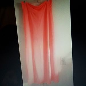 Dresses & Skirts - Coral Maxi Skirt